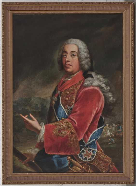 Duke Ferdinand Maria Innocent of Bavaria (1699 Brussels - 1738 Munich). 1697 Gimo (Sweden) - 1776 Munich. Georges Desmarées, workshop - photo 2