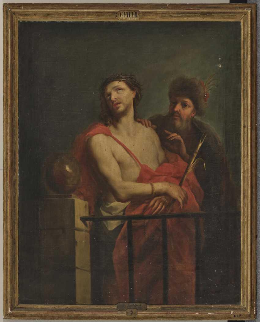Ecce homo 1682 Neapel - 1752 Madrid. Jacopo Amigoni - photo 2