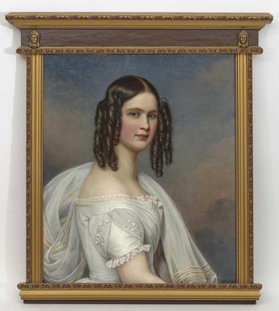 Hildegard Princess of Bavaria. 1844 (1825 Würzburg - 1864 Vienna). 1781 Mainz - 1858 Munich. Joseph Stieler - photo 2