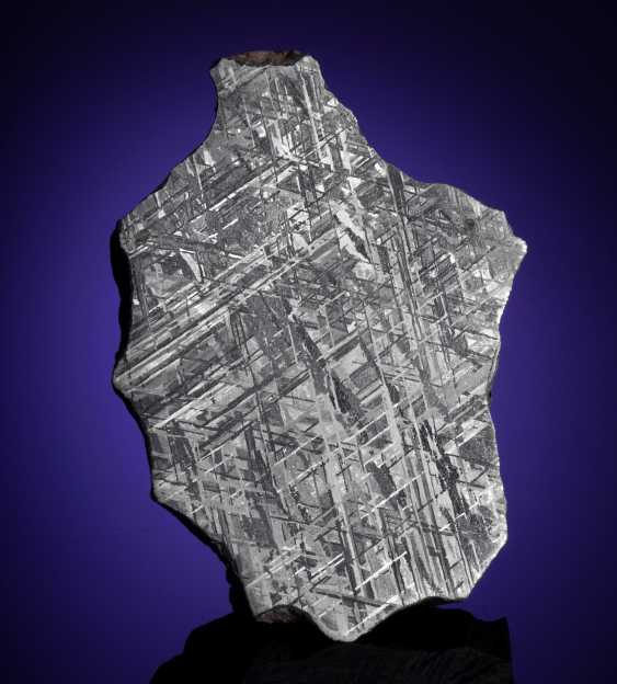 GIBEON METEORITE — END PIECE - photo 1