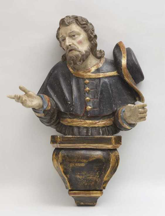Pilgrim Saint, South German, end of 17. Century - photo 1