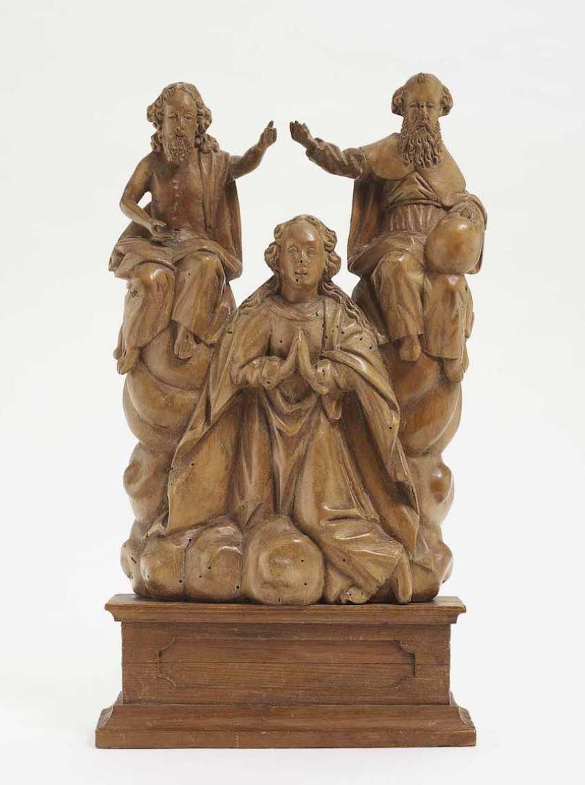 Coronation of the virgin South German, 17. Century - photo 1