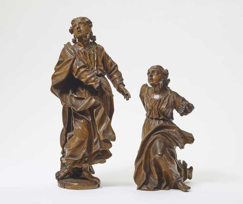 MARIA AND HL. JOHANNES South Germany (Mainfranken), around 1700 - photo 1