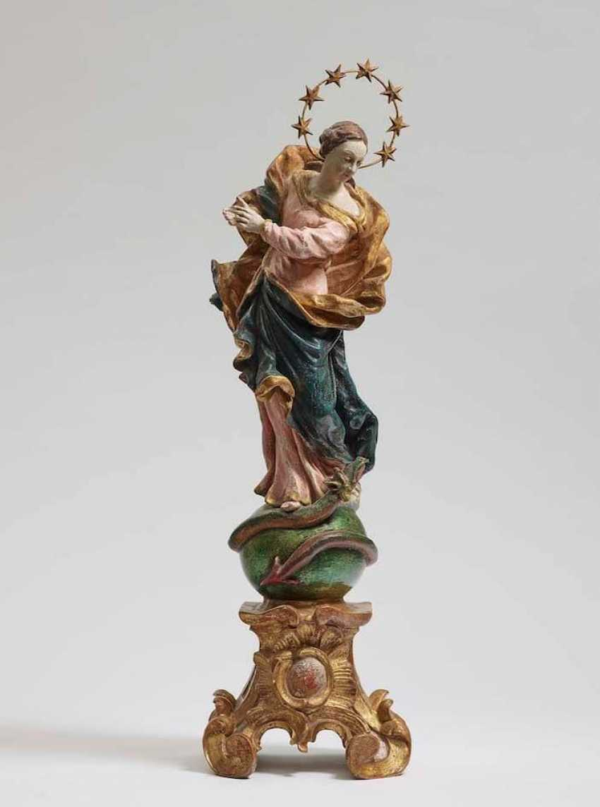 MARIA IMMACULATA South German, mid-18th. Century - photo 1