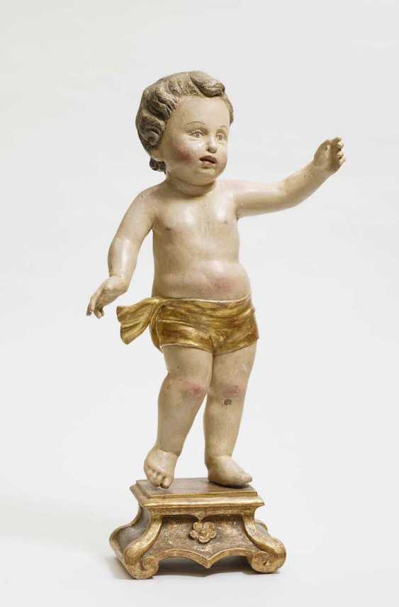 Christ child South German, end of 18. Century - photo 1