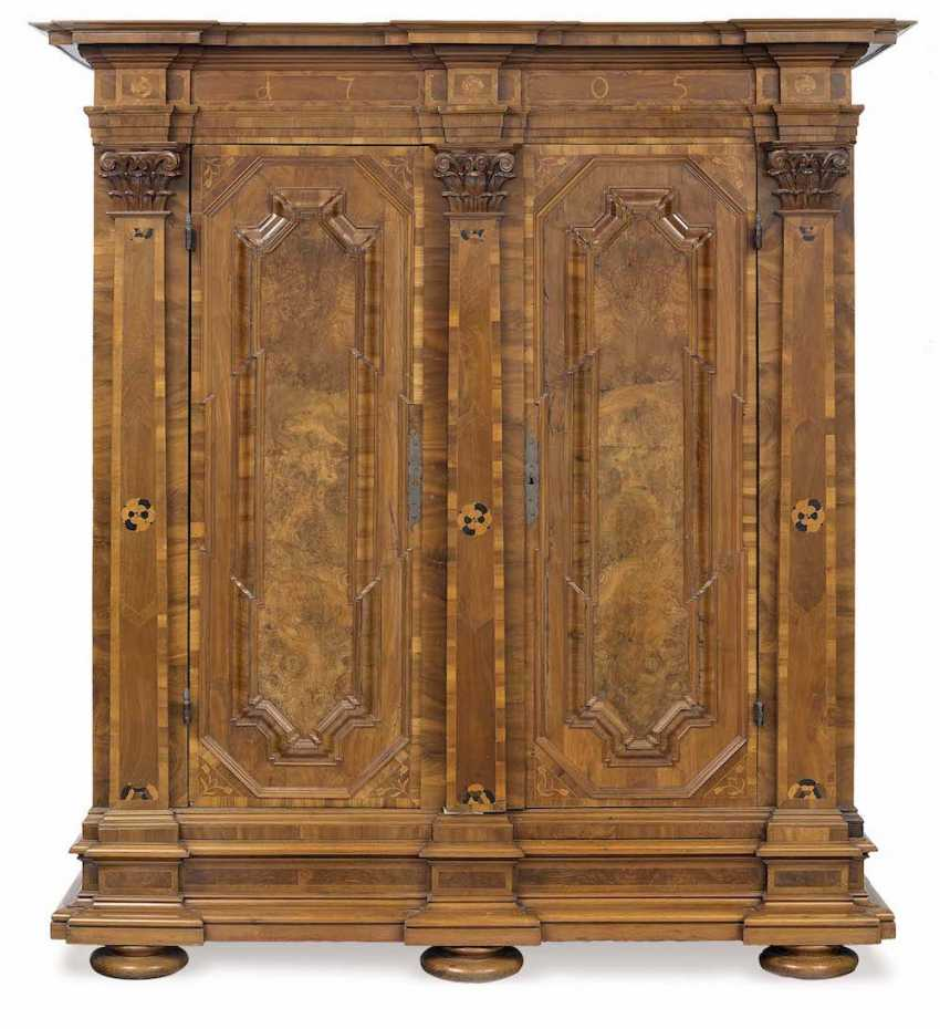 CABINET German, dat. 1705 - photo 1