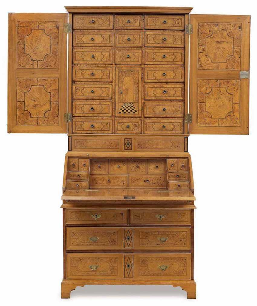 Top chest of drawers North write English, 1. Half of 18. Century - photo 2