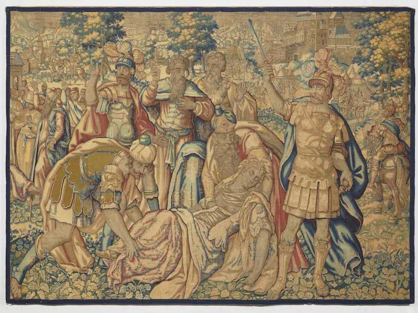TAPESTRY of Flanders (Brussels), 1. Half of the 17. Century - photo 1