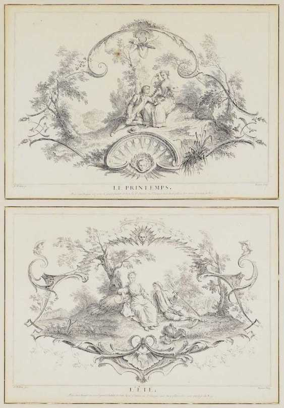 WATTEAU (GEN. WATTEAU DE LILLE), FRANÇOIS LOUIS JOSEPH 1758 Valenciennes - 1823, Lille, nach - photo 1