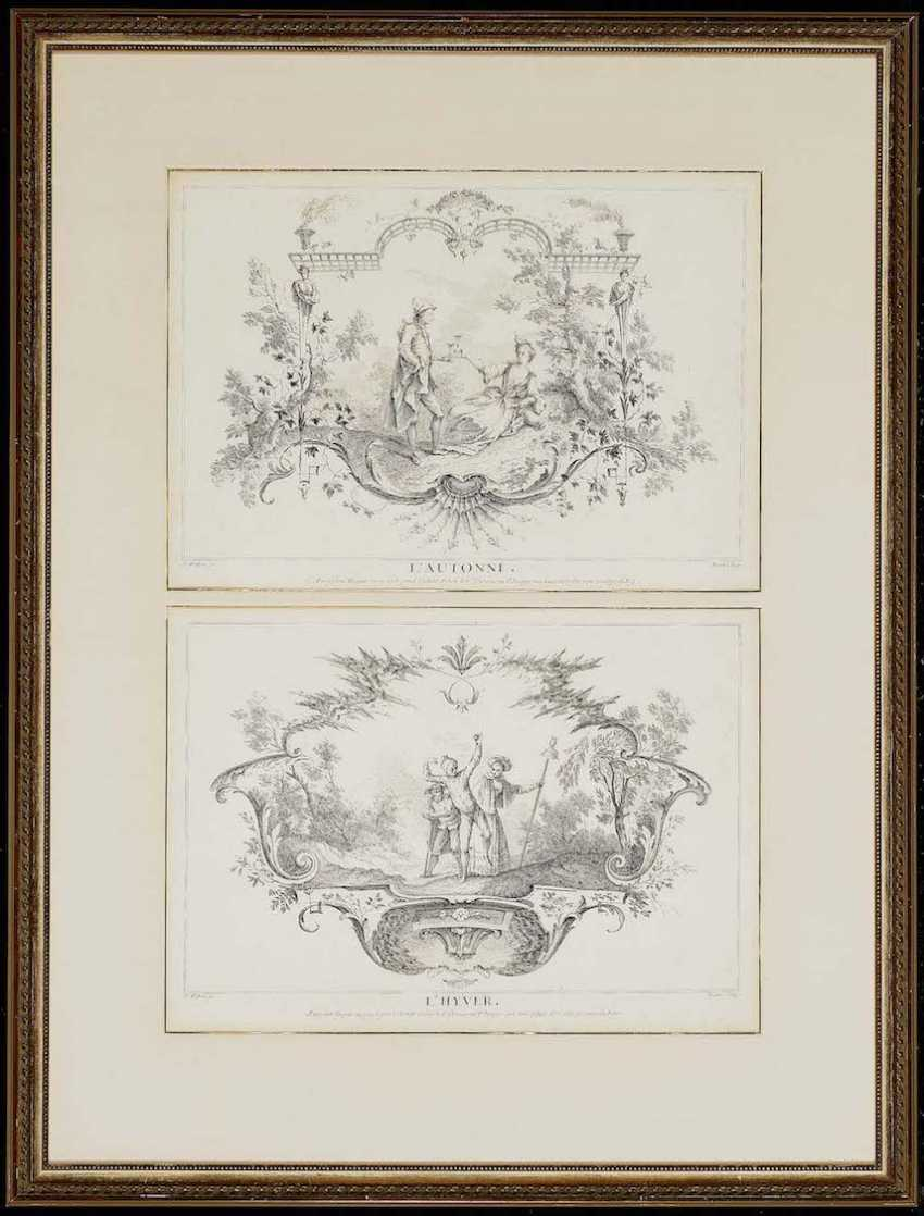 WATTEAU (GEN. WATTEAU DE LILLE), FRANÇOIS LOUIS JOSEPH 1758 Valenciennes - 1823, Lille, nach - photo 4