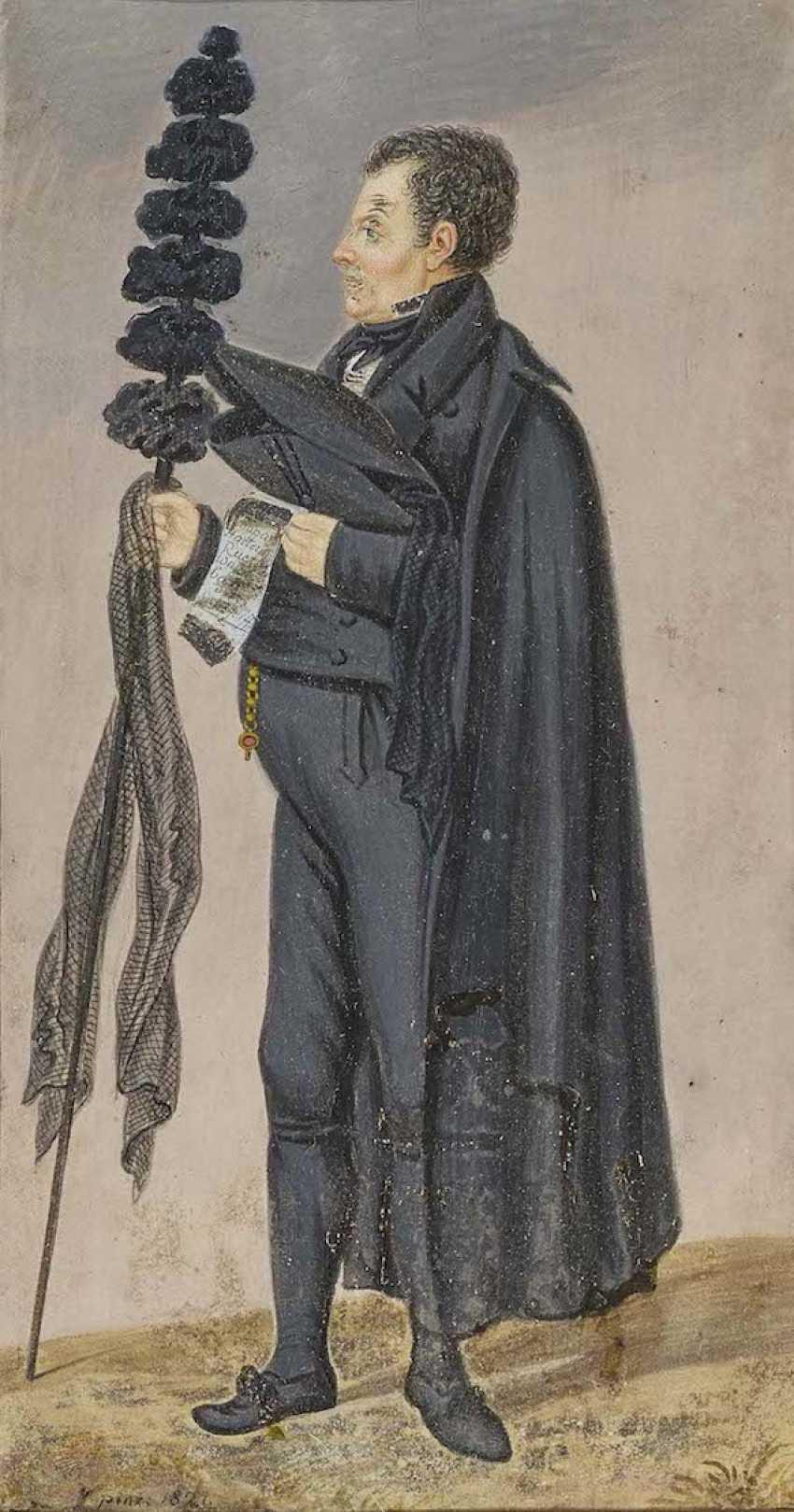 South German around 1821 - photo 1
