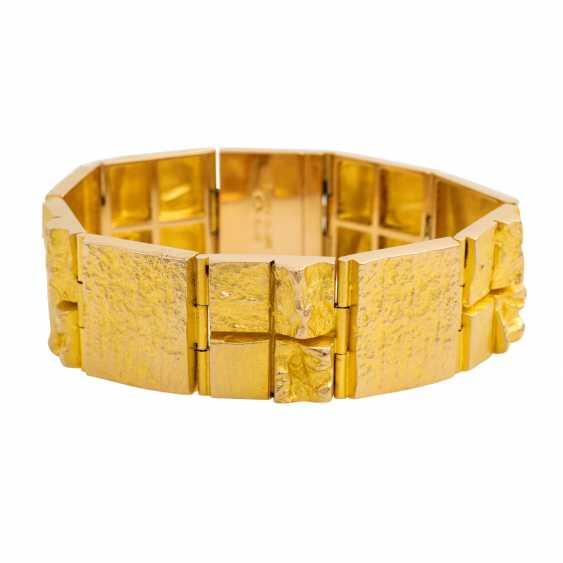 LAPPONIA bracelet, 14K yellow gold. - photo 1
