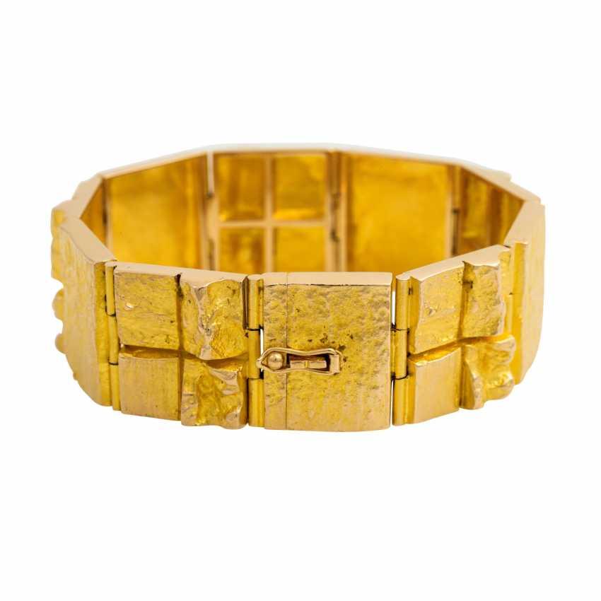 LAPPONIA bracelet, 14K yellow gold. - photo 2