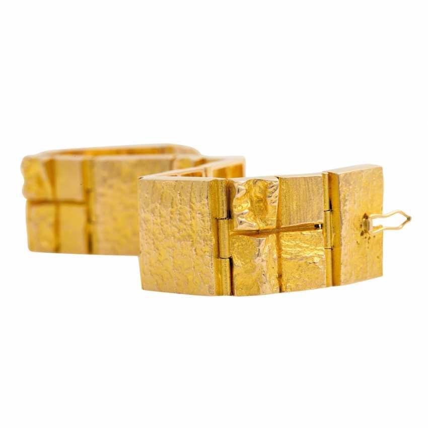 LAPPONIA bracelet, 14K yellow gold. - photo 5