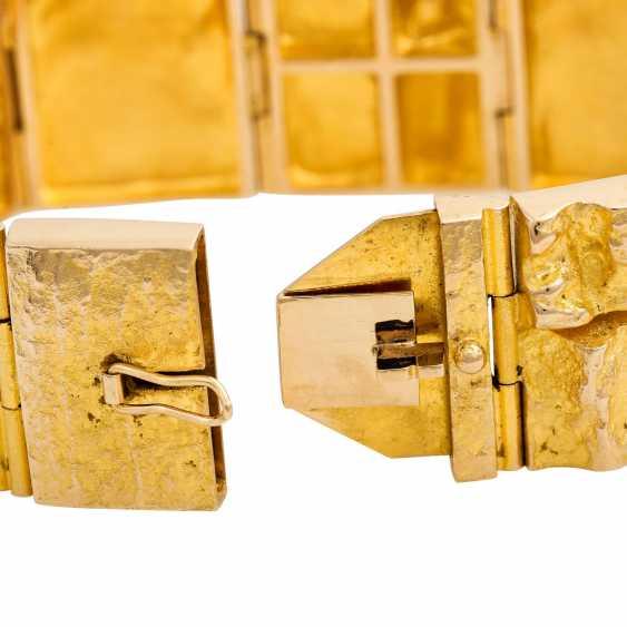LAPPONIA bracelet, 14K yellow gold. - photo 6