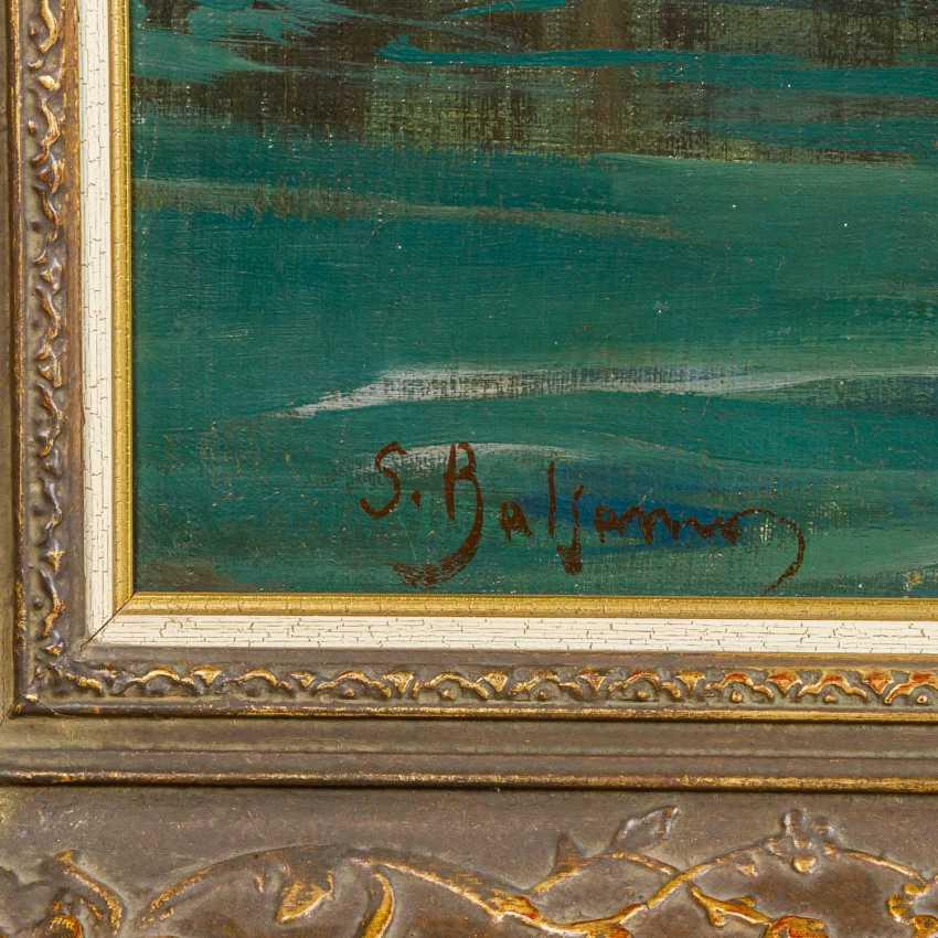 """BALSAMO, SALVATORE (1894-1922) """"Blessing of the Sea in Posillipo"""" - photo 3"""