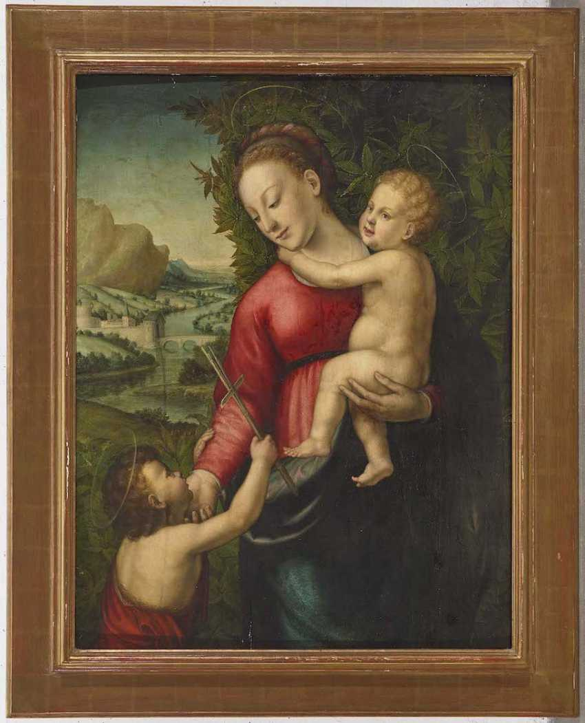 FLORENCE (BARTOLOMEO GHETTI, UNDETECTABLE FROM 1503 - 1536 FLORENCE ?) 1. Half of the 16th century. Century - photo 2