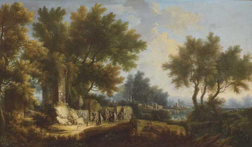 HUYSMANS, JAN BAPTIST 1654 - Antwerp 1716 ibid, perimeter - photo 1