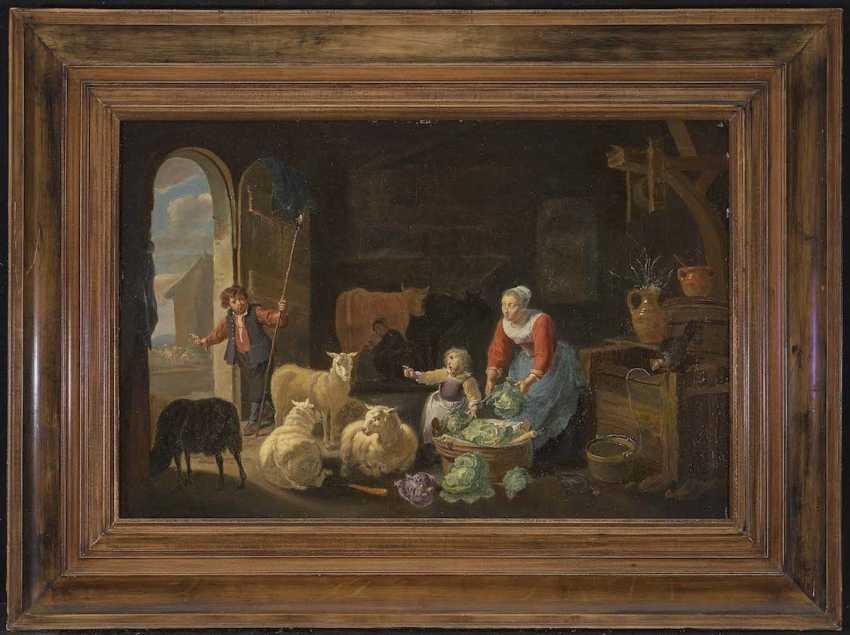HERP, WILLEM (GUILLAUME, GUILLIAM) VAN 1614 Antwerp - 1677, ibid., attributed to - photo 2