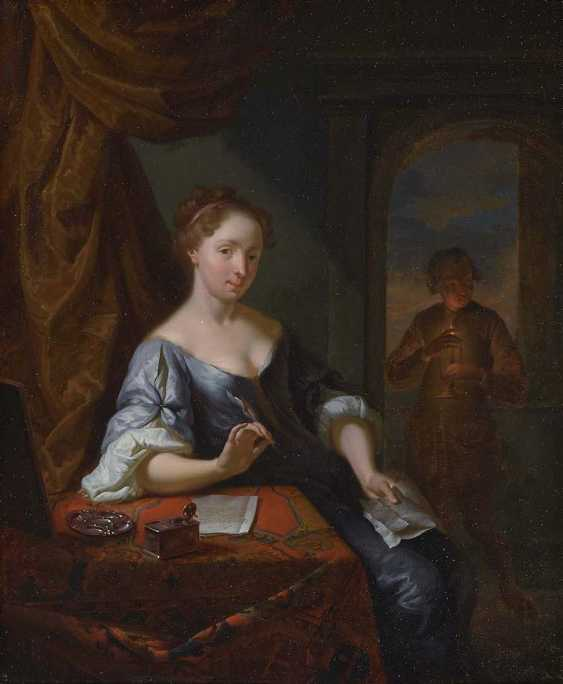MONI, LOUIS DE Breda 1698 - 1771 Leiden, attributed to - photo 1