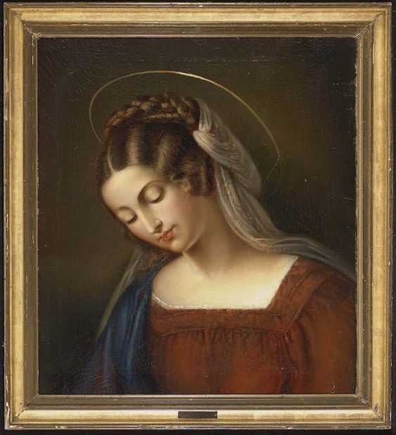 Ellen Rieder, MARIA (ANNA M.) in 1791, Constance - 1863, ibid., attributed to - photo 2
