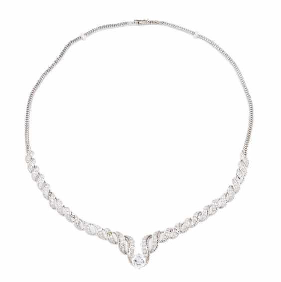DIAMOND NECKLACE 'WILM' - photo 2