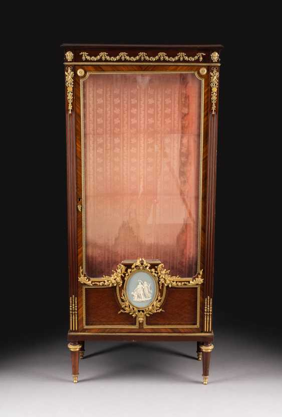 IMPORTANT NAPOLEON III DISPLAY CABINET - photo 1