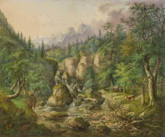 LIER, ADOLF 1826 Herrnhut - 1882 True/Südtirol - photo 1