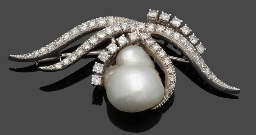 Perl-Diamantbrosche - photo 1
