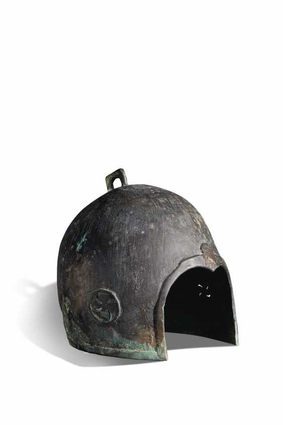 A BRONZE HELMET - photo 1