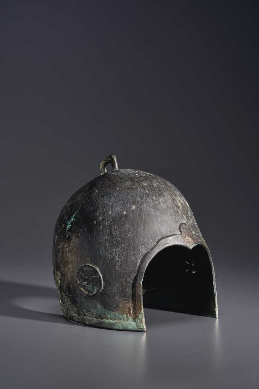 A BRONZE HELMET - photo 3