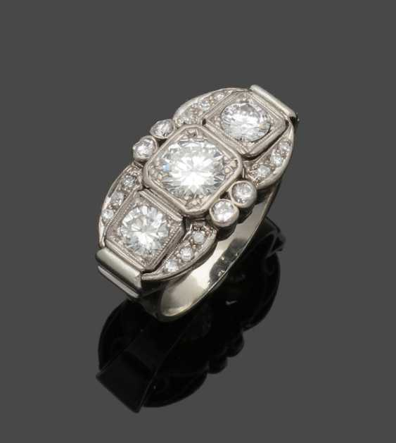 Representative Art Deco Diamond Ring - photo 1