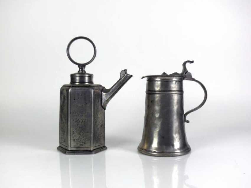 2, various tin cans - photo 1