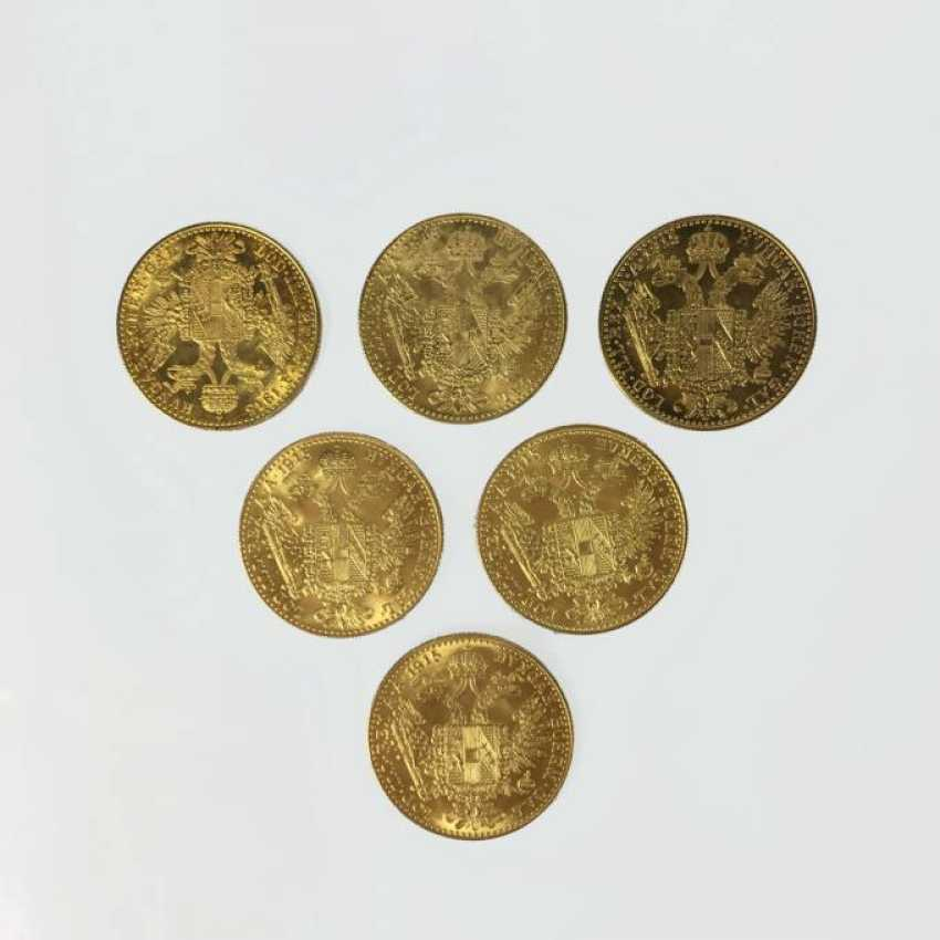 6 gold coins - photo 1