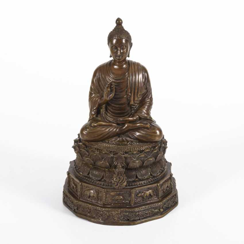 Buddha with zodiac signs - photo 1