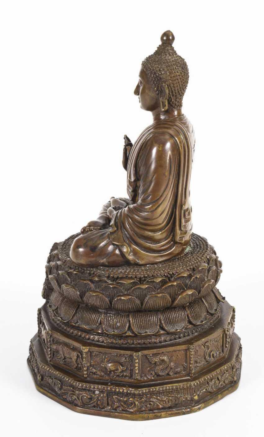 Buddha with zodiac signs - photo 4