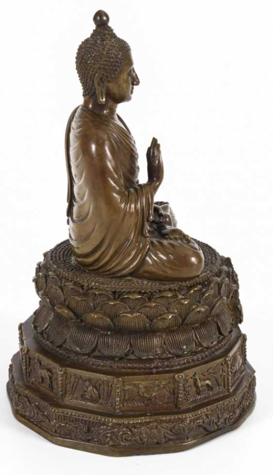 Buddha with zodiac signs - photo 6
