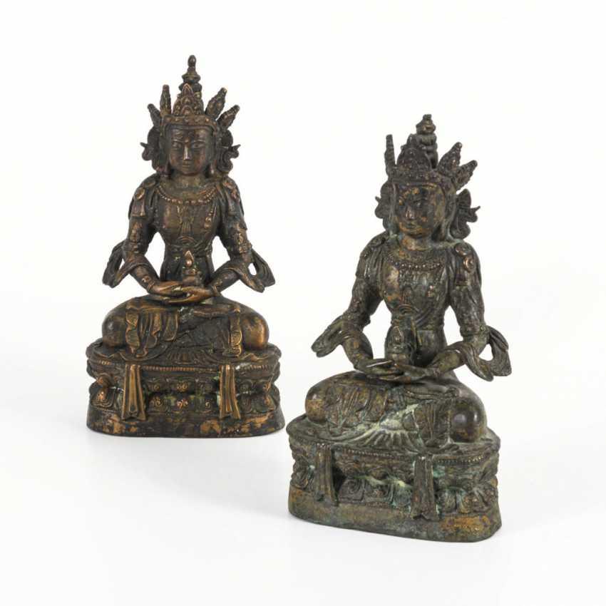 Pair of buddhas - photo 1