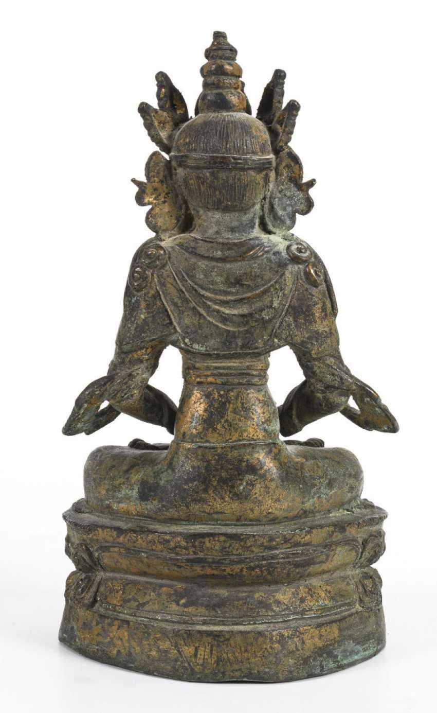 Pair of buddhas - photo 12
