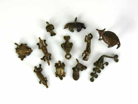 "11 a variety of ""gold weights"" - photo 1"