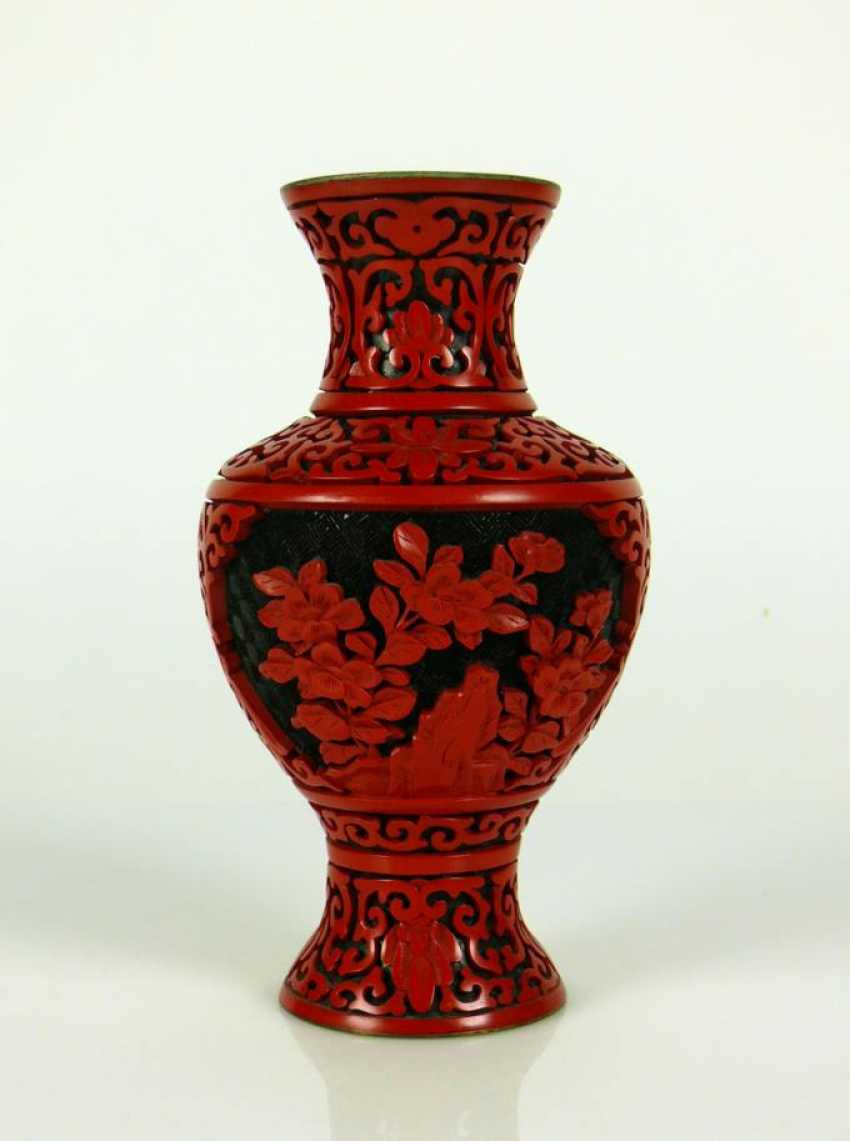 Rotlack-Vase - photo 1