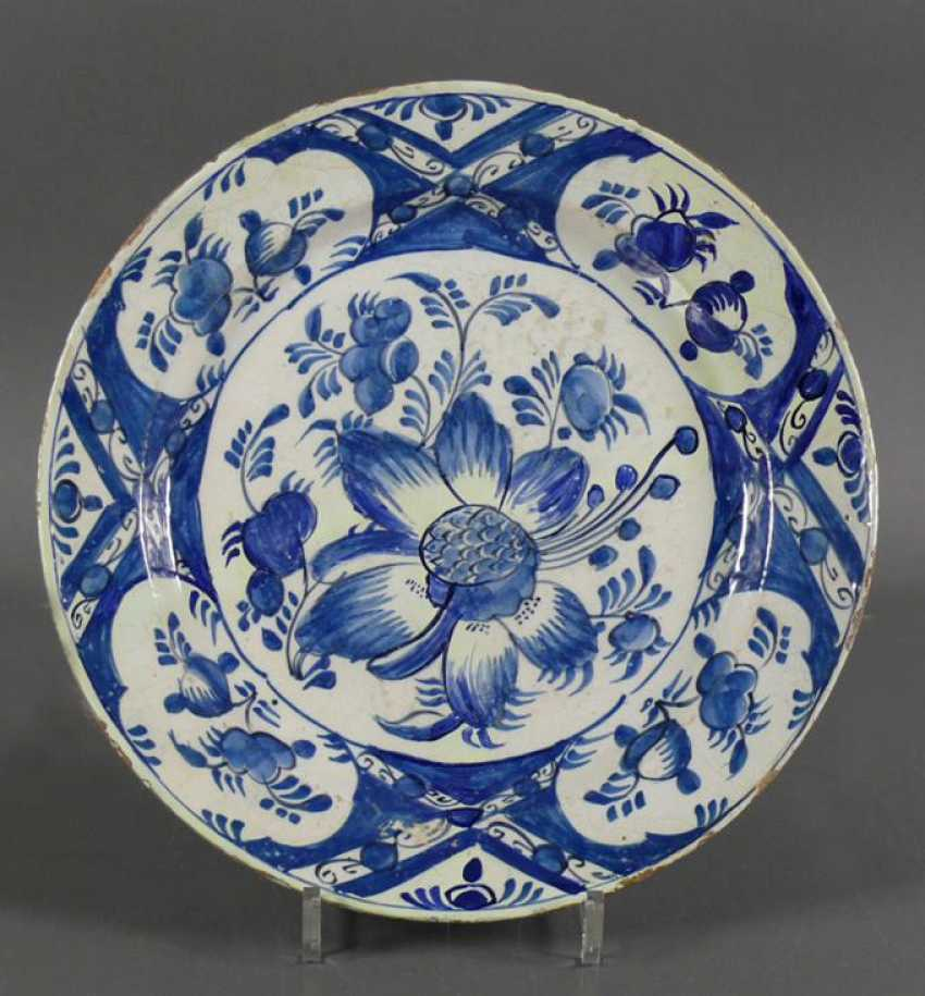 Delft Blue Plate - photo 1
