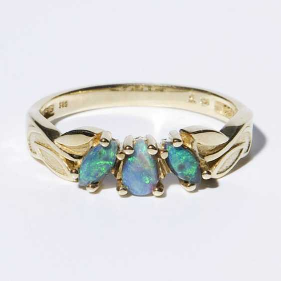 Opal-Ring - photo 1