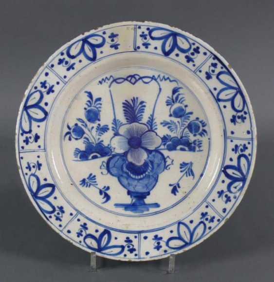 Delft Blue Plate - photo 1