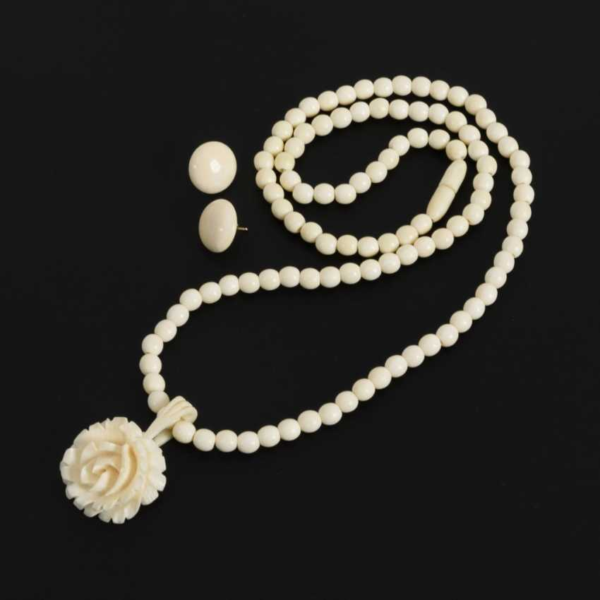 3 parts of ivory jewelry - photo 1
