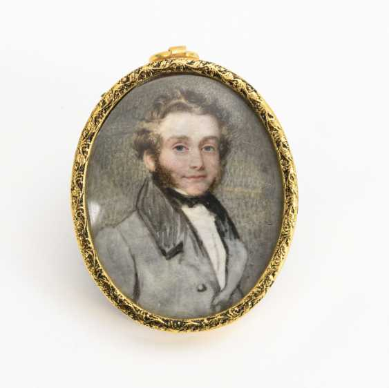 Miniature: Portrait of a gentleman - photo 1