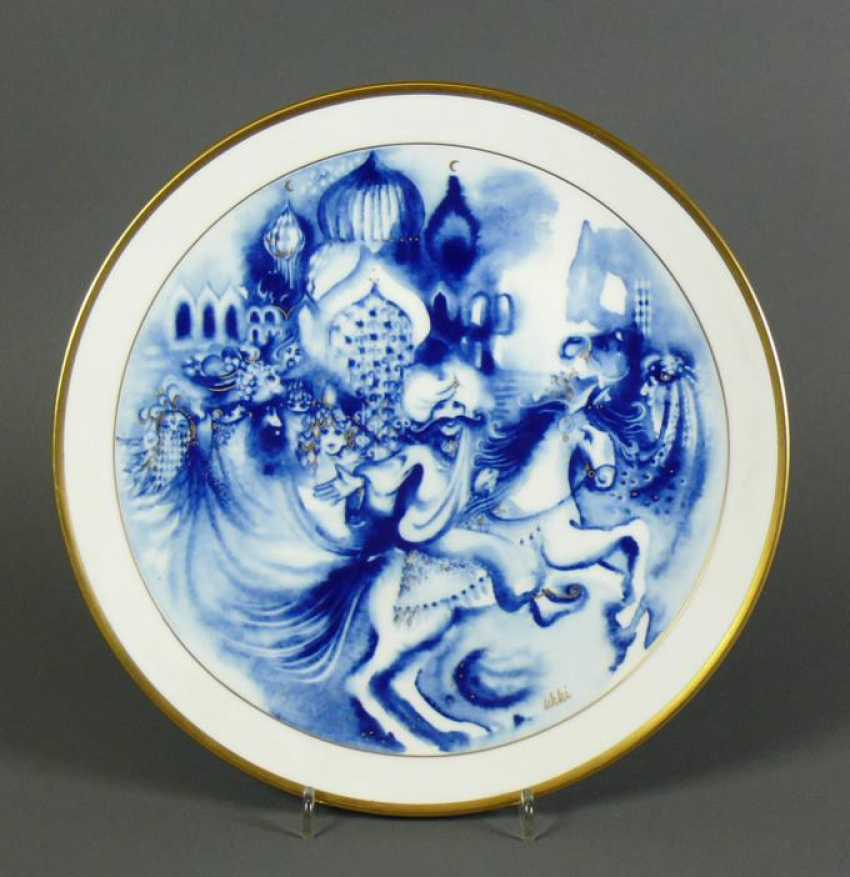 Meissen Year Plate 1983 - photo 1