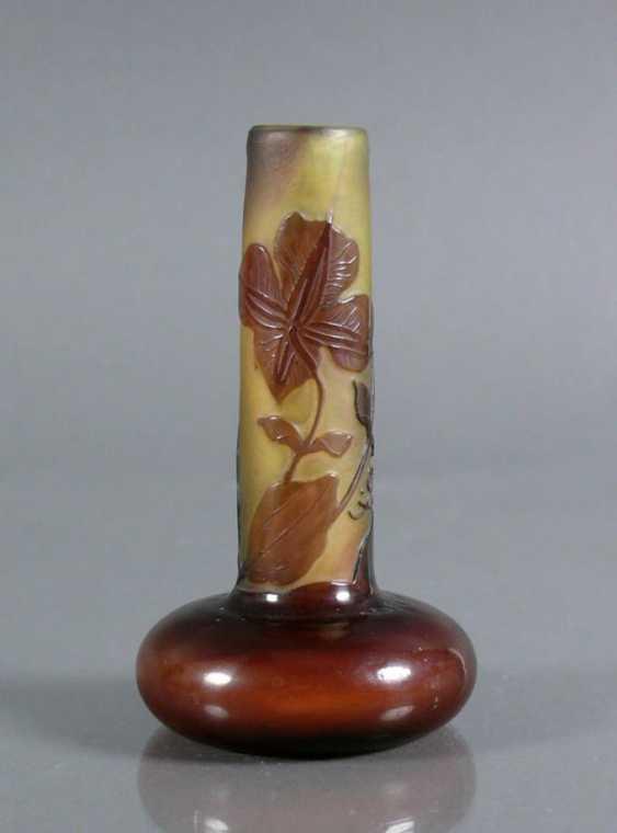 Miniatur Galle-Vase - photo 1