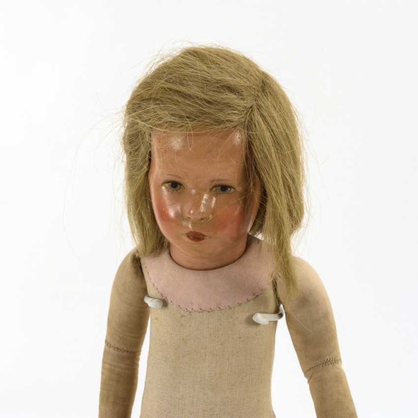 Blonde girl doll - photo 1