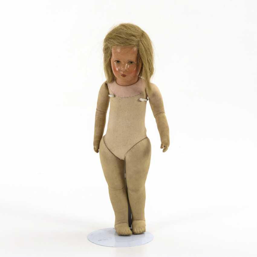 Blonde girl doll - photo 2